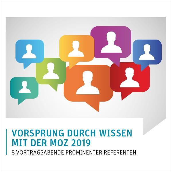 Vorsprung durch Wissen mit der MOZ 2019 Frankfurt (Oder) - 8er Abo zur Teilnahme am Gesamtprogramm >> Vorteilspreis