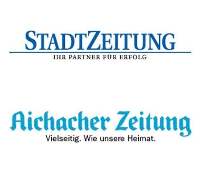 Exklusiver Vorteilspreis für Kunden der StadtZeitung und Abonnenten der Aichacher Zeitung